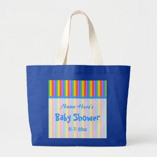 Anpassningsbarnamn. Shower. för regnbågerandbaby Kassar