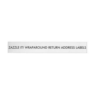Anpassningsbarpersonligadressetiketter förbigår etikettband