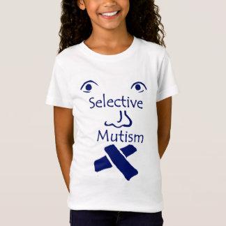 Ansikte av selektivt Mutism ljust T Shirts