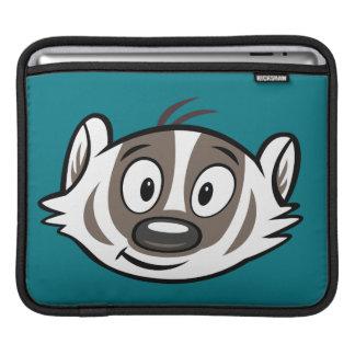 Ansikte för bäverskinn för Boomer för Ricky iPad Sleeve