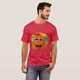 Ansikte för clown för jackolykta, Halloween pumpa Tee