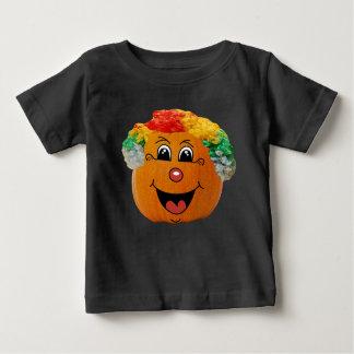 Ansikte för clown för jackolykta, Halloween pumpa Tee Shirt