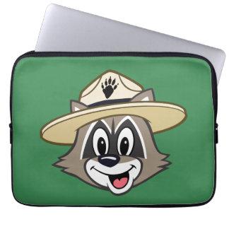 Ansikte för stack för skogsvaktare för laptop sleeve
