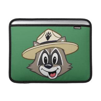 Ansikte för stack för skogsvaktare för sleeve för MacBook air