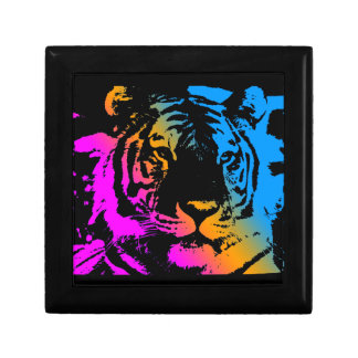 Ansikte för tiger för Corey tiger80-tal Liten Presentask