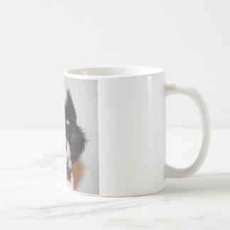 Ansikte för valp för leksakParti pudel Kaffemugg