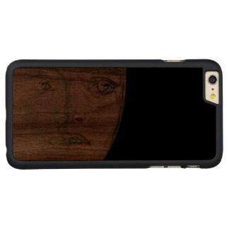 ansikte-honom carved® walnut iPhone 6 plus skal