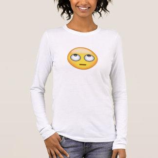 Ansikte med rullande ögon Emoji T Shirts