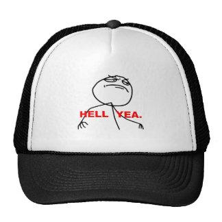 Ansikte Meme för helveteYeaursinne Keps