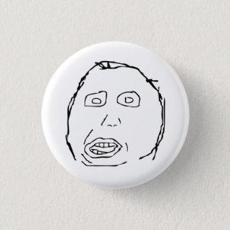 Ansikte Meme för Herp Derp idiotursinne Mini Knapp Rund 3.2 Cm