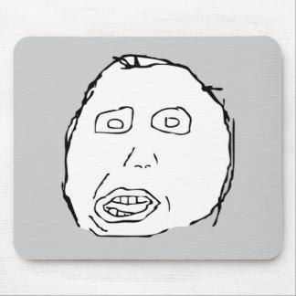Ansikte Meme för Herp Derp idiotursinne Mus Mattor