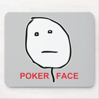Ansikte Meme för pokeransikteursinne Musmattor