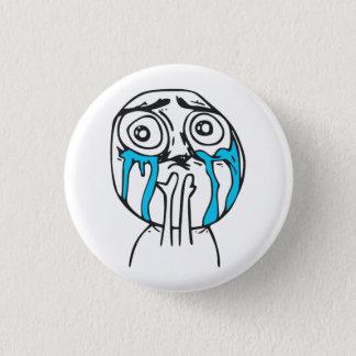Ansikte Meme för ursinne för Mini Knapp Rund 3.2 Cm