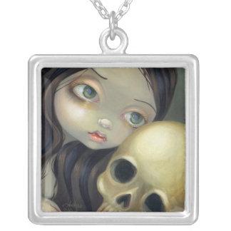 Ansikten av den gotiska skallefen för fe #126 smycken