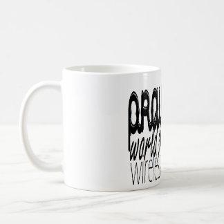 Anslutning för Bönvärldsmästaretrådlösa Kaffemugg