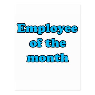 anställd av månaden vykort