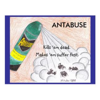 ANTABUSE-vykort Vykort