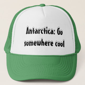 Antarktis: Gå någonstans coolt Truckerkeps