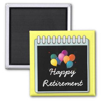"""Anteckningsblock: """"Noterar den lyckliga pensionen"""" Magnet"""
