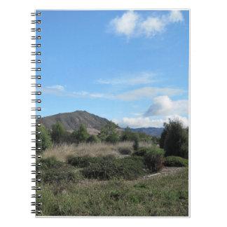 Anteckningsbok: Berg av San Luis Obispo, CA Anteckningsbok