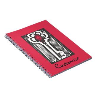 Anteckningsbok för anpassningsbar för ruby- och