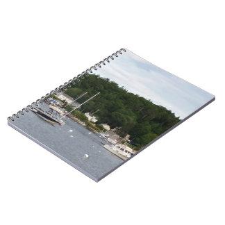 Anteckningsbok för Boothbay hamnfartyg (80 sidor
