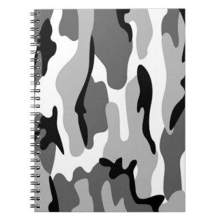 Anteckningsbok för grått- och
