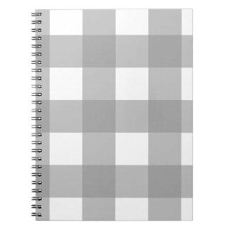 Anteckningsbok för grått- och vitbuffelkontroll