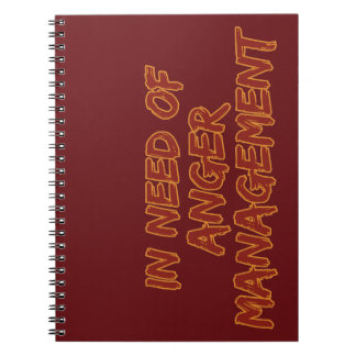 Anteckningsbok för ilskaledninganpassningsbar