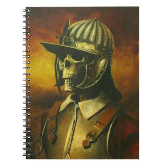 Anteckningsbok för inbördeskrigRoundheadskelett