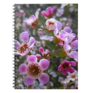 Anteckningsbok/personlig journal - den rosa manuka antecknings böcker