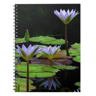 Anteckningsbok/personlig journal - purpurfärgade n anteckningsbok