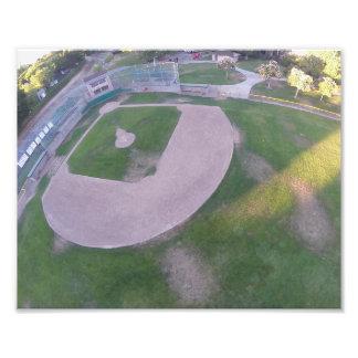 Antenn för SC-baseballfält Fototryck