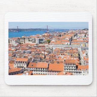 Antennen beskådar av Lisbon, Portugal Musmatta