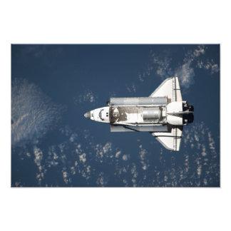 Antennen beskådar av rymdfärjaupptäckt 3 fototryck