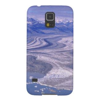 Antennen beskådar den Lowell glaciären, den Kluane Galaxy S5 Fodral