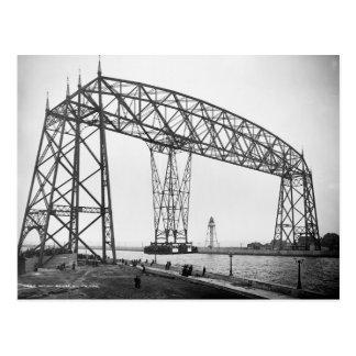Antennen överbryggar Duluth Minnesota Vykort