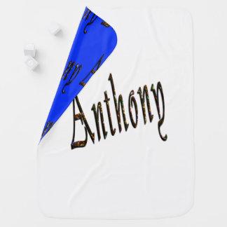 Anthony känd logotyp, bebisfilt