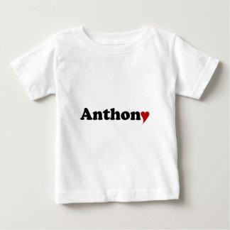 Anthony med hjärta tee shirts