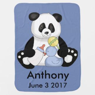 Anthonys personligPanda Bebisfilt