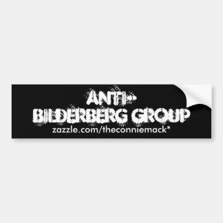 Anti-Bilderberg bildekal II