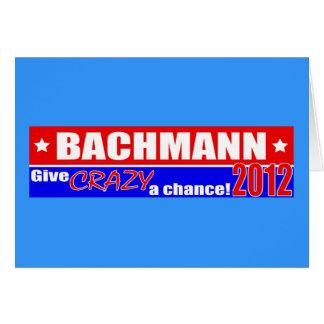 Anti design 2012 för Bachmann presidentDUMPER Hälsningskort