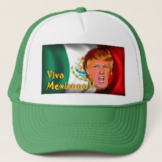Anti Donald Trump Viva Mexico hatt Keps