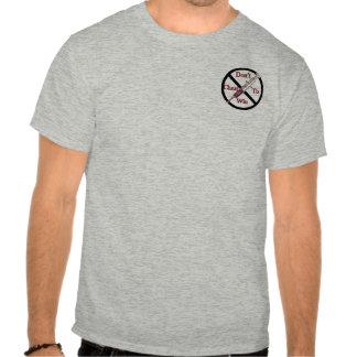 Anti-Dopa för service Tee Shirt