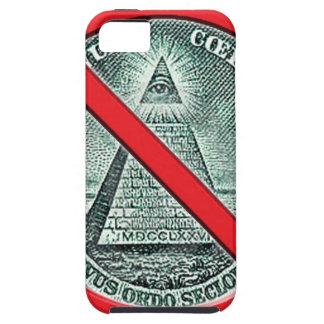 Anti fodral för Illuminati mobiltelefon iPhone 5 Case-Mate Cases