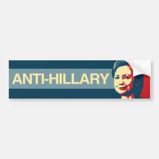 Anti-Hillary - Anti-Hillary propaganda - - Bildekal