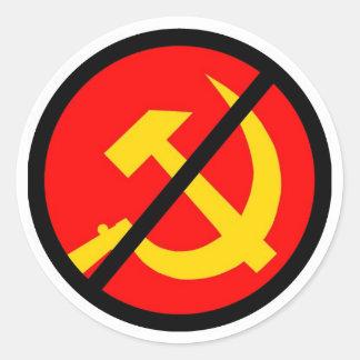 anti-kommunist runt klistermärke