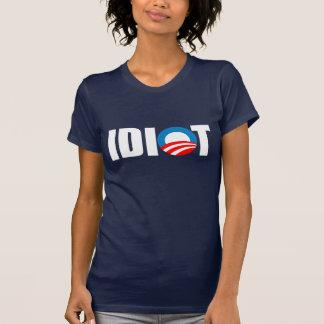 Anti-Obama bildekal - OBAMA ÄR EN IDIOT Tshirts