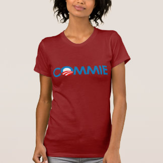 Anti-Obama - Commie T Shirt
