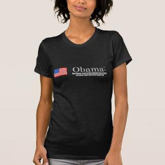 Anti-Obama - därför att alla förtjänar dina pengar T-shirts